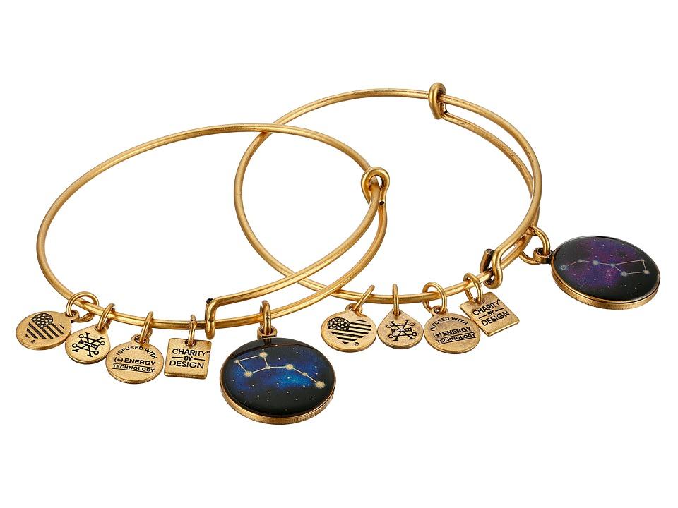 Alex and Ani - Big and Little Dipper Bracelet (Rafaelian Gold) Bracelet