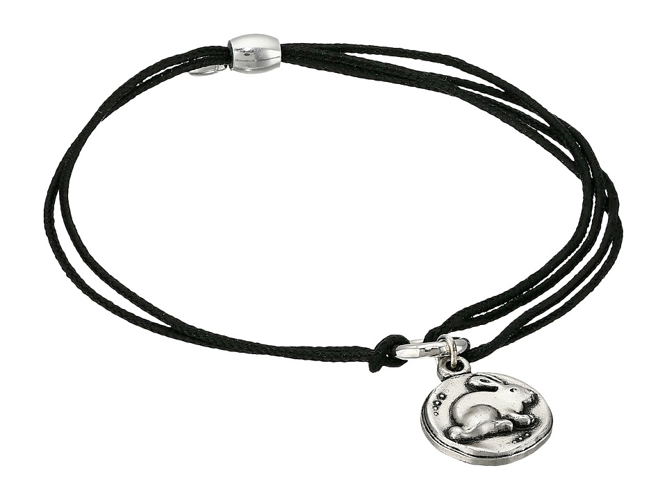 Alex and Ani Kindred Cord Bunny Bracelet Rafaelian Silver Bracelet