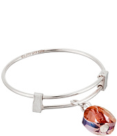 Alex and Ani - Crystal Infusion Expandable Wire Ring Orchid Bracelet