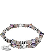 Alex and Ani - Nature's Gem Wrap Thistle Bracelet