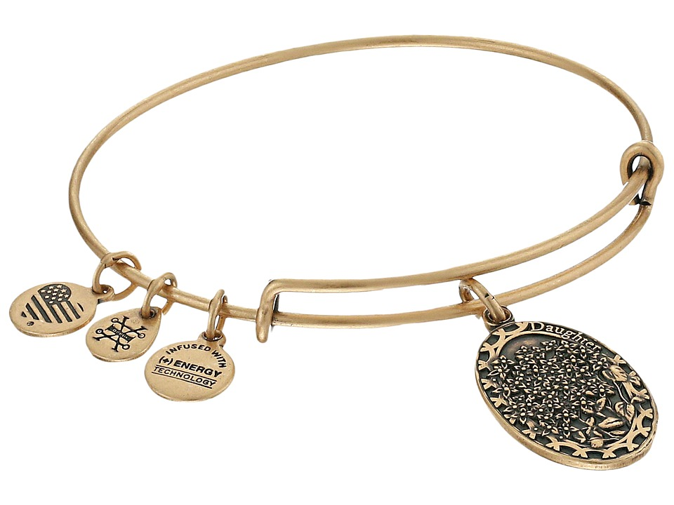 Alex and Ani Because I love you Daughter II Bracelet Rose Gold Bracelet