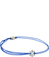 Alex and Ani - Kindred Cord Daisy Blue Sterling Rafaelian Silver Bracelet