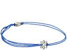 Alex and Ani - Kindred Cord Daisy Blue Sterling Rafaelian Silver Bracelet