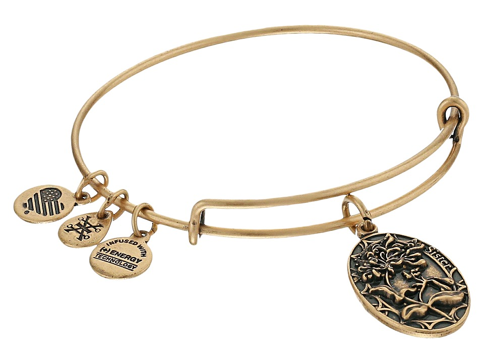 Alex and Ani Because I love you Sister II Bracelet Rafaelian Gold Bracelet