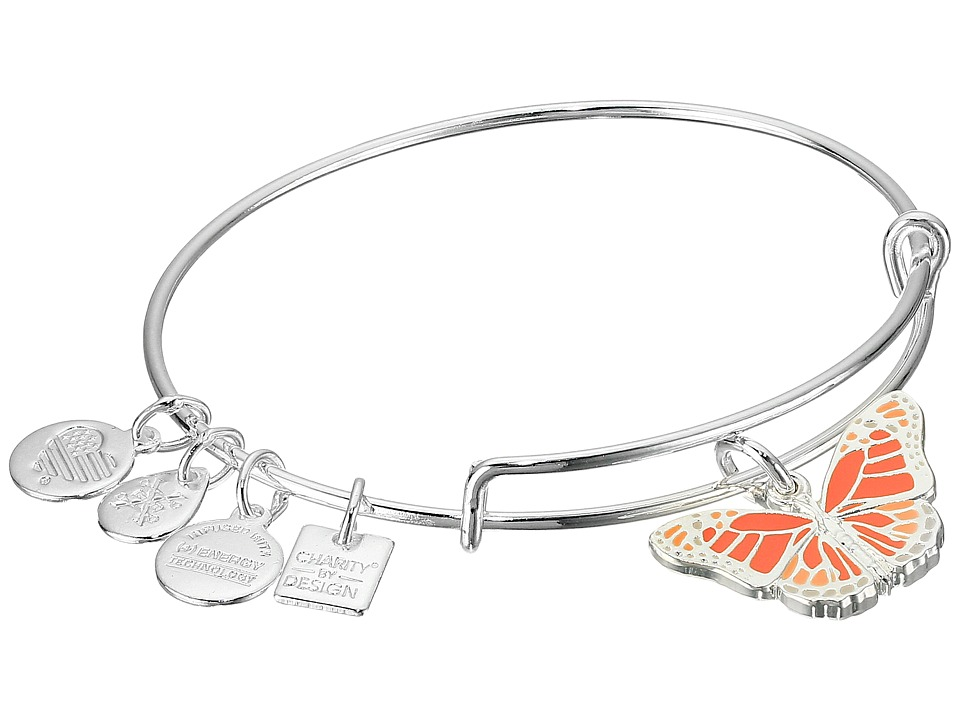 Alex and Ani Charity By Design Butterfly Bracelet Rafaelian Silver Bracelet
