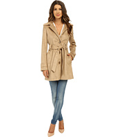 Via Spiga - Suede Belted Trench Coat