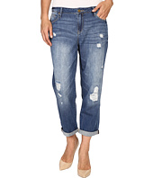 Calvin Klein Jeans - Destroyed Boyfriend Jeans in Destroyed Bright Sky
