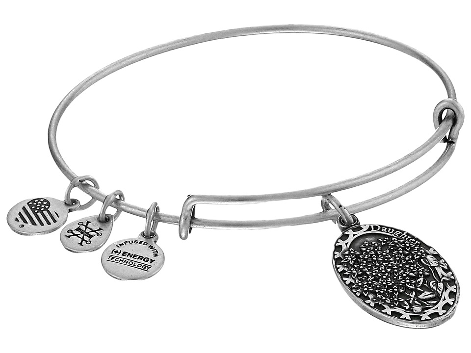 Alex and Ani Because I love you Daughter II Bracelet Rafaelian Silver Bracelet