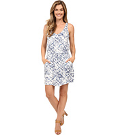 Calvin Klein Jeans - Printed Tencel Racerback Dress