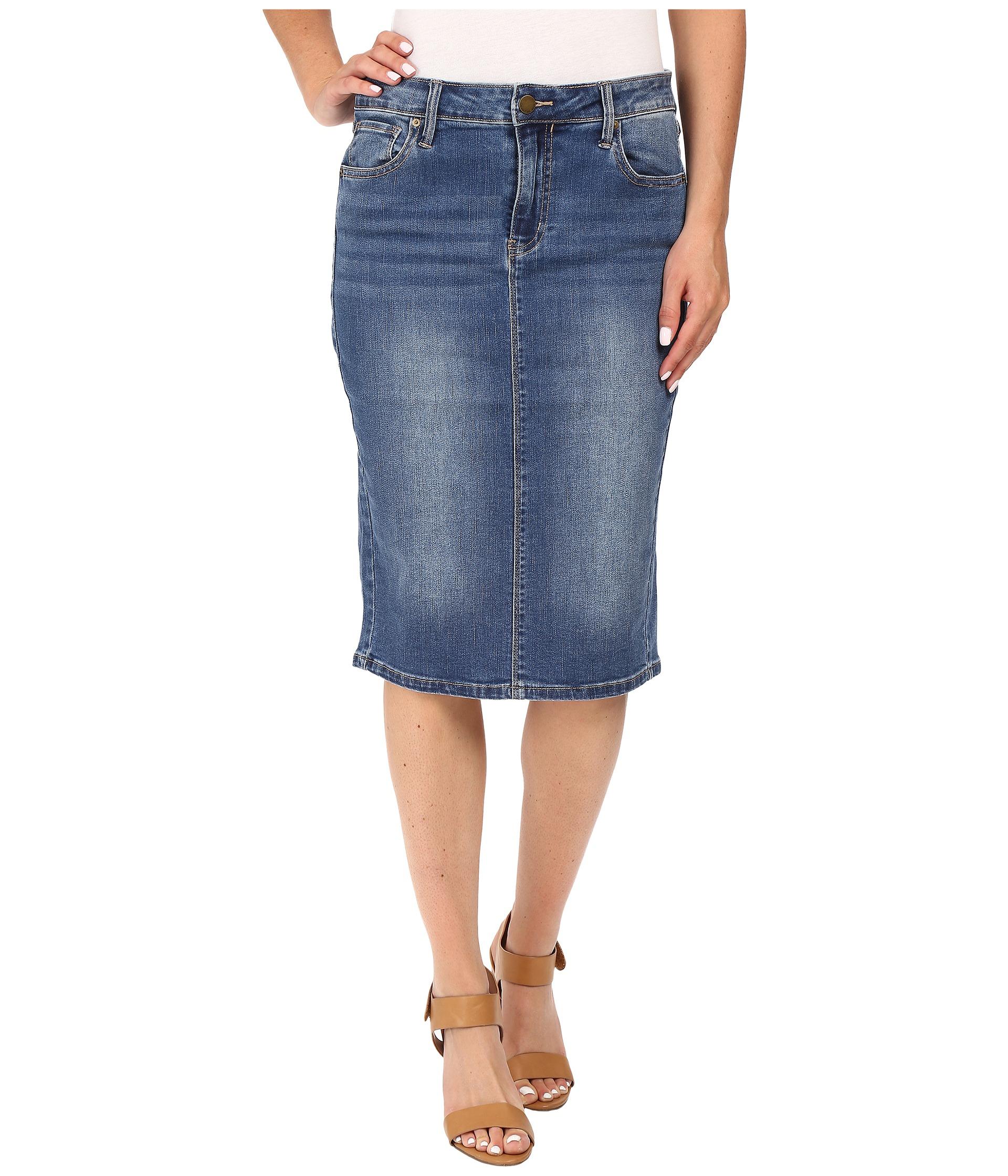 calvin klein essential pencil skirt zappos