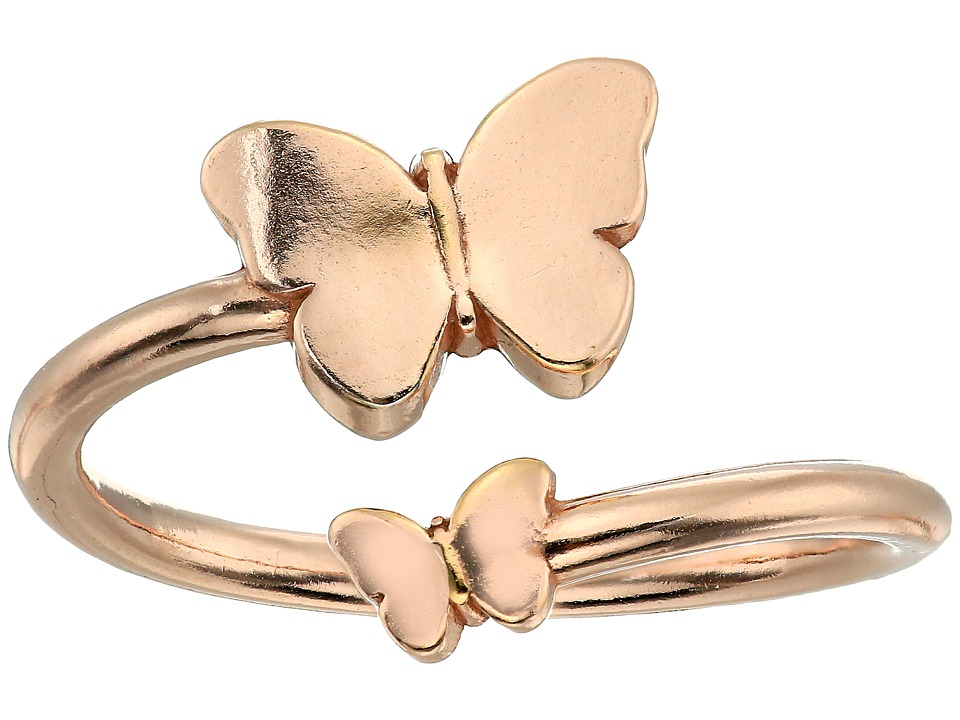 Alex and Ani - Ring Wrap Butterfly (Rose Gold) Ring