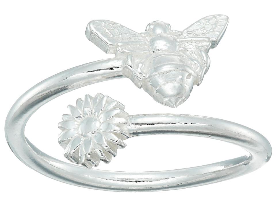 Alex and Ani - Ring Wrap Bee (Rafaelian Silver) Ring