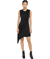 Neil Barrett - Mixed Yarns Bicolour Asymmetrical Dress