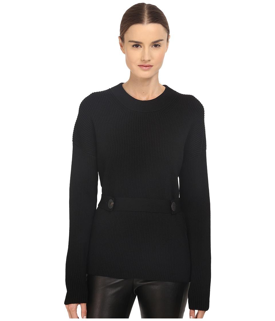 Neil Barrett Oversize Jumper Sweatshirt Black Womens Sweater
