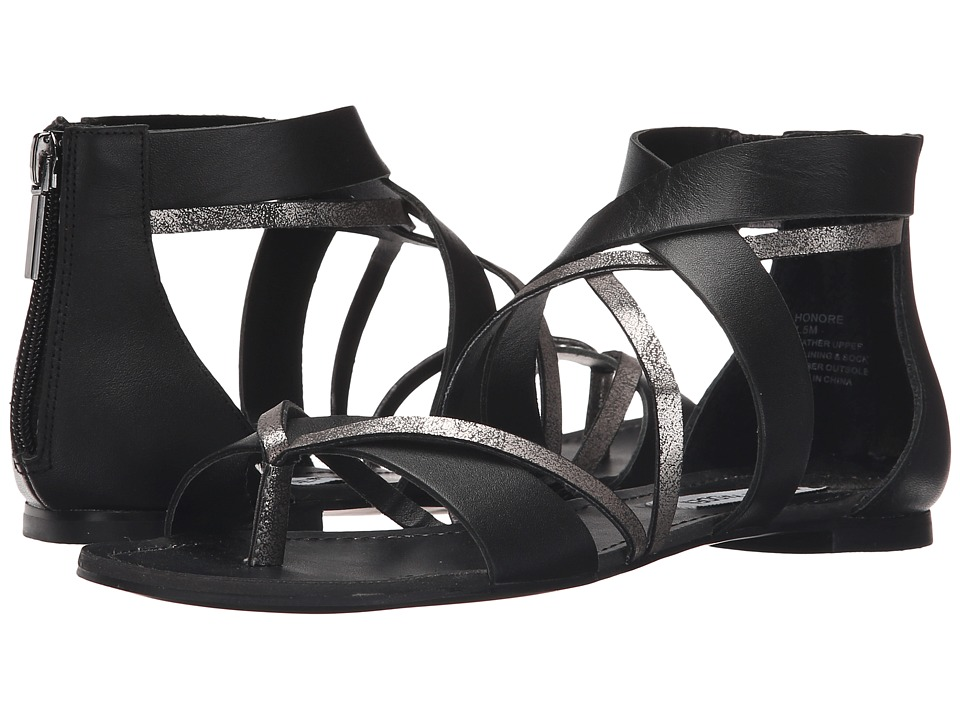 Steve Madden Honore Black Womens Sandals