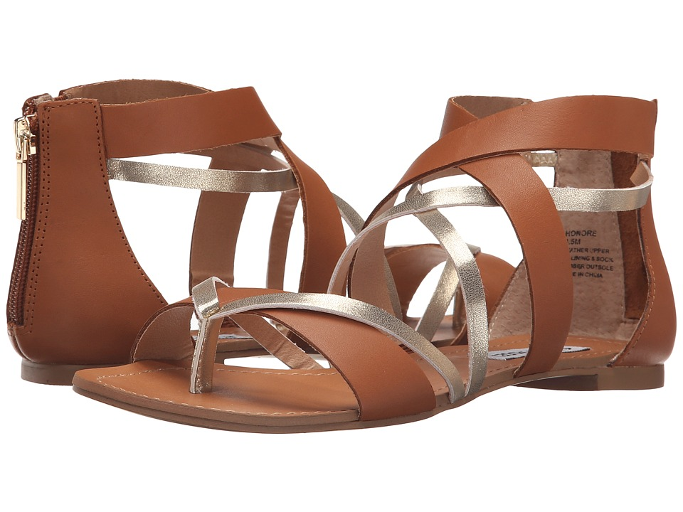 Steve Madden Honore Cognac Womens Sandals