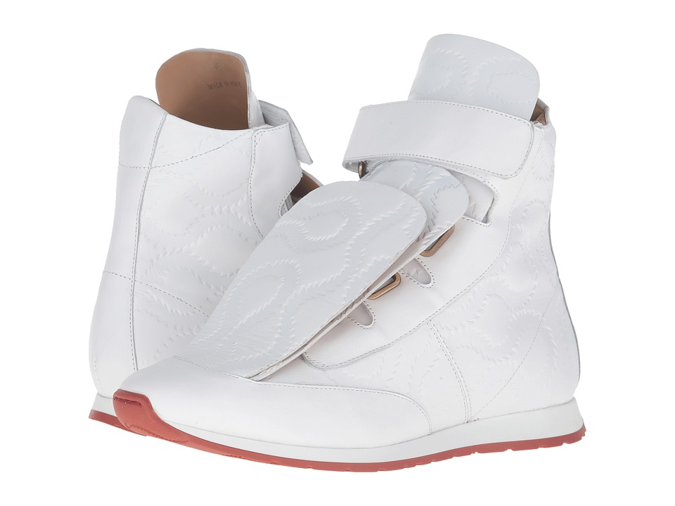 Vivienne Westwood 3 Tongue Trainer (White) Men