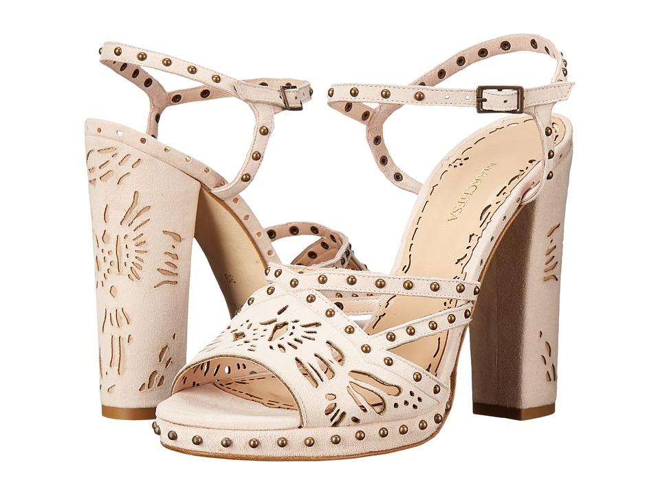 Marchesa - Amber (Nude Suede) High Heels