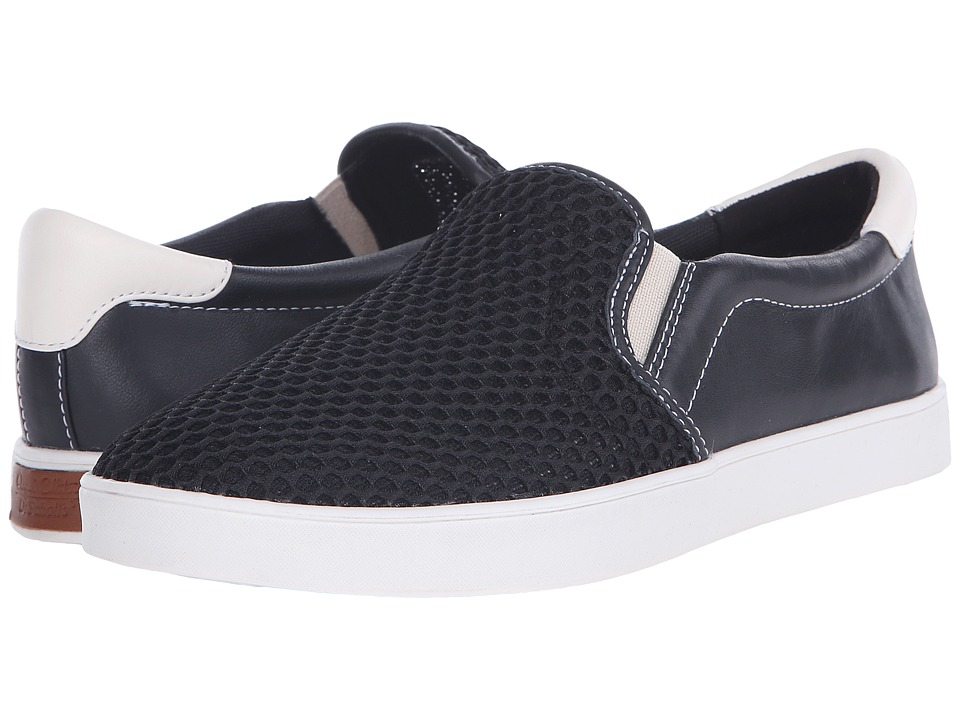 Dr. Scholls Scout Original Collection Black Mesh Womens Slip on Shoes