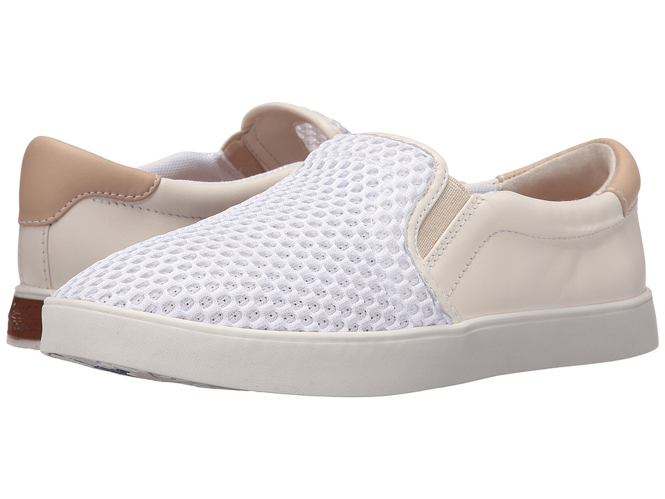 Dr. Scholls Scout Original Collection White Mesh Womens Slip on Shoes