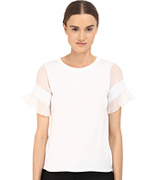 See by Chloe - Jersey Ruffle Sleeve Blouse