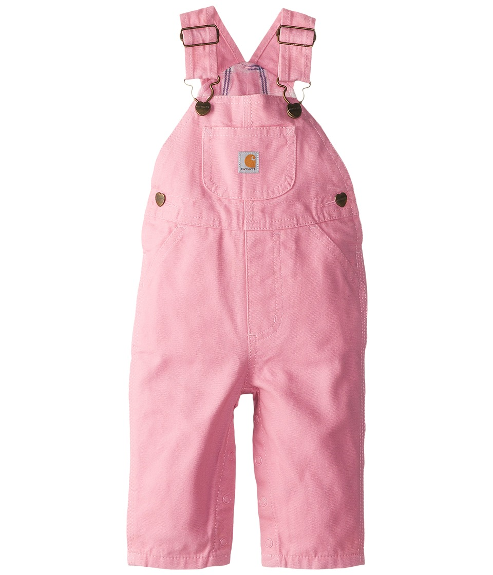 Carhartt Kids - Canvas Bib Overall/Flannel Lined