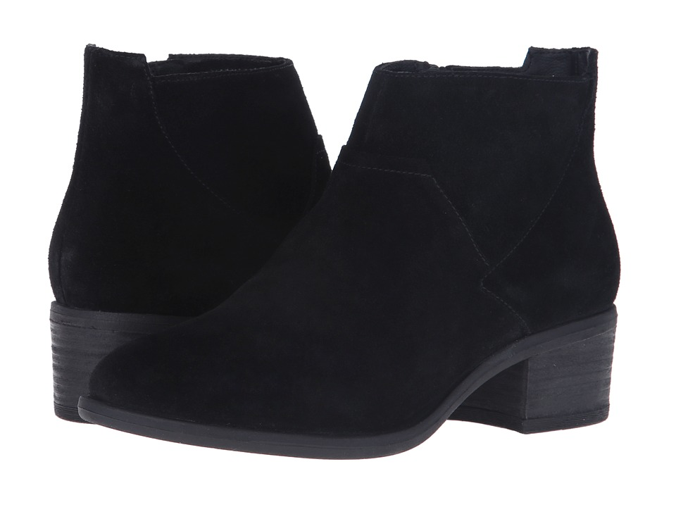 Blondo Maddie Waterproof Black Suede Womens 1 2 inch heel Shoes