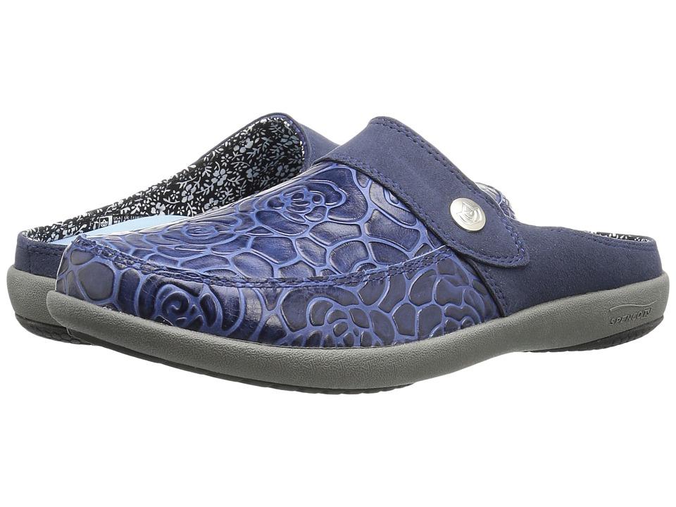 Spenco Alicia (Navy) Women's Shoes