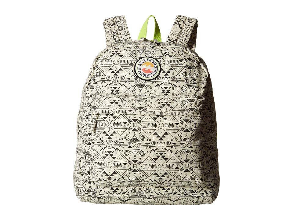 Billabong - Play Date Backpack (Little Kids/Big Kids) (White Cap) Backpack Bags