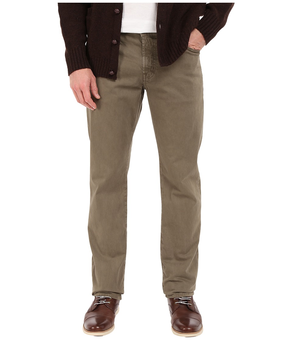 AG Adriano Goldschmied Graduate Tailored Leg Pants in Sulfur Adobe Sulfur Adobe Mens Casual Pants