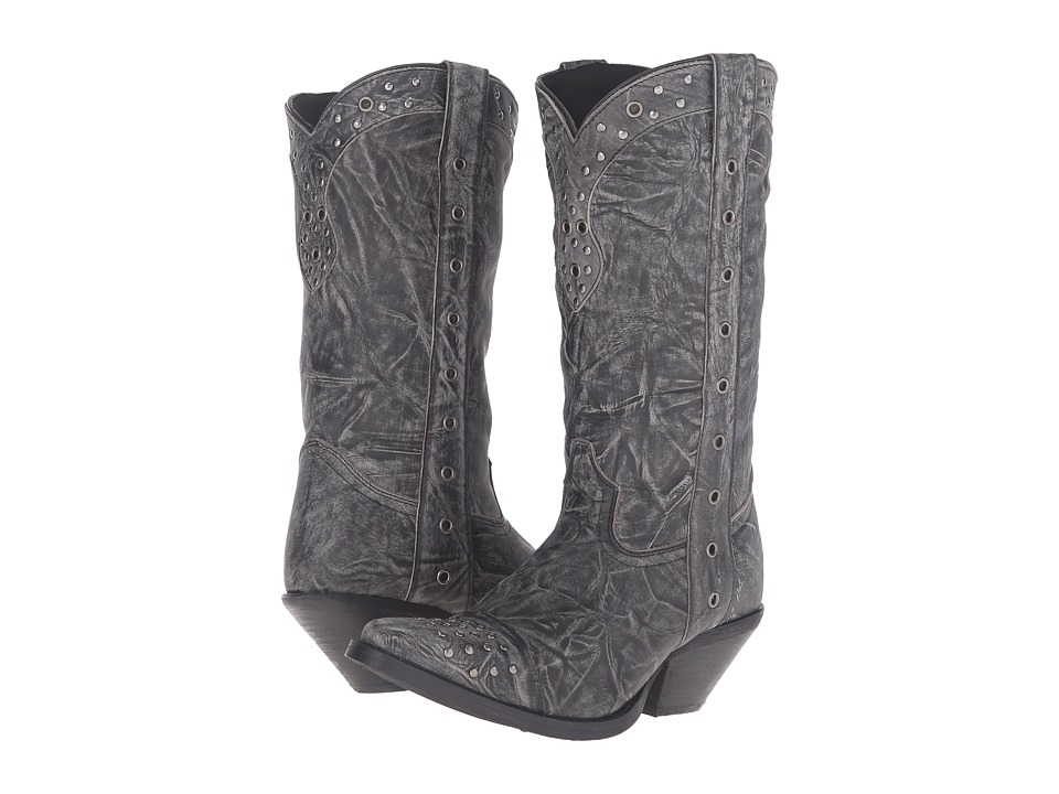 Durango - Crush Punk Studded 12 (Black) Cowboy Boots