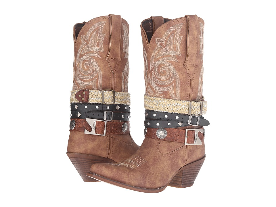 Durango - Crush Western Accessory 12 (Tan) Cowboy Boots