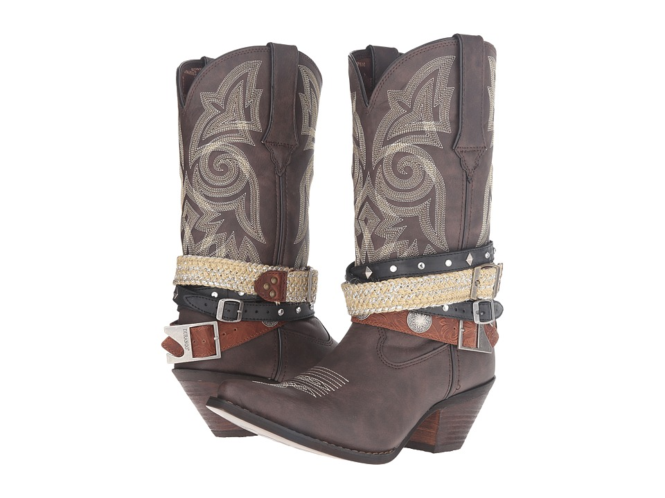 Durango - Crush Western Accessory 12 (Dark Brown) Cowboy Boots