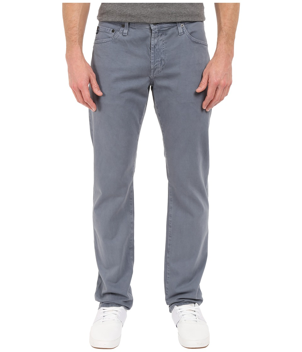 AG Adriano Goldschmied Graduate Tailored Leg Pants in Sulfur Dusty Blue Sulfur Dusty Blue Mens Casual Pants