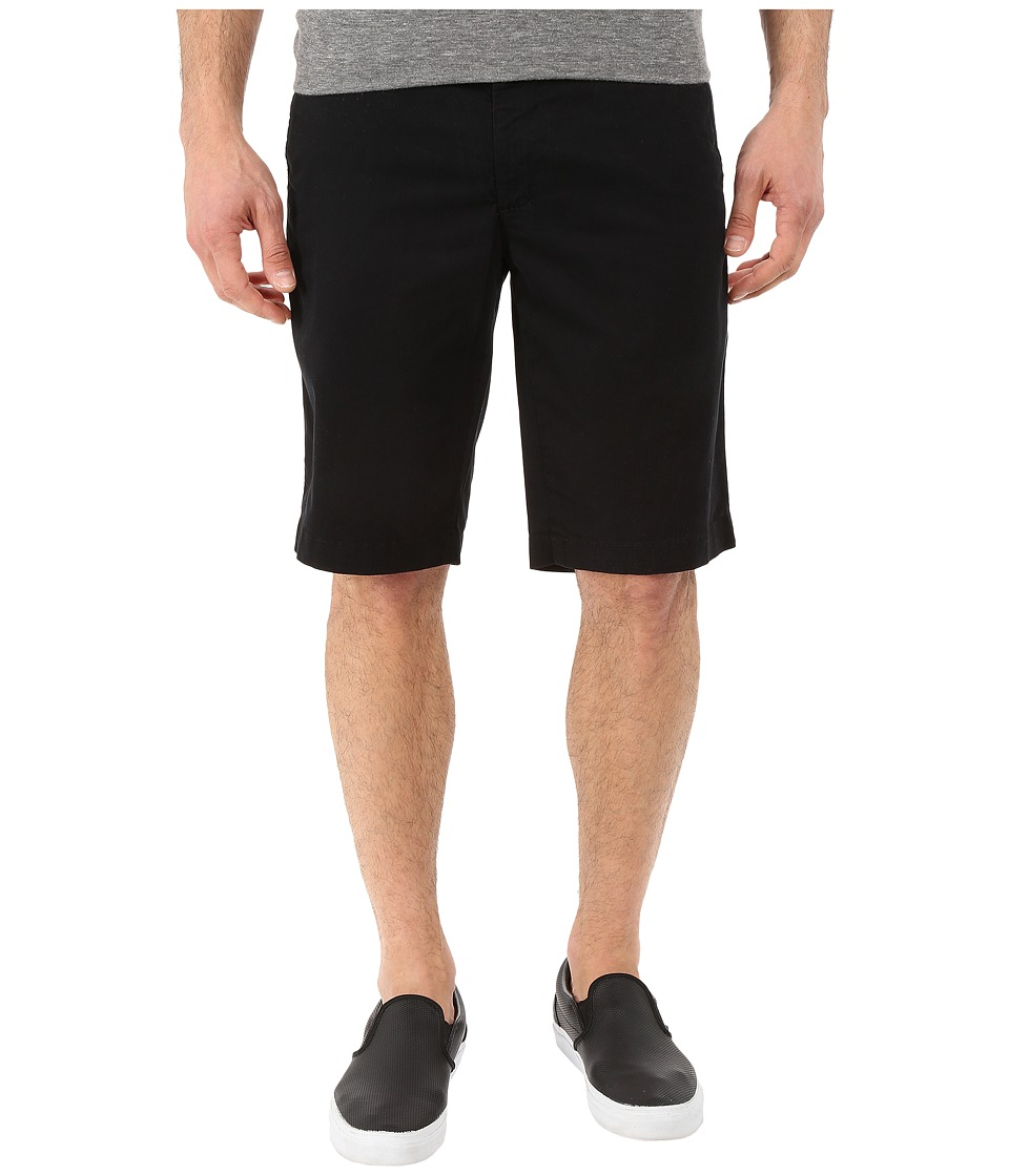 AG Adriano Goldschmied Griffin Relaxed Shorts in Super Black Super Black Mens Shorts