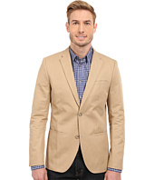 Perry Ellis - Solid Slub Linen Cotton Suit Jacket