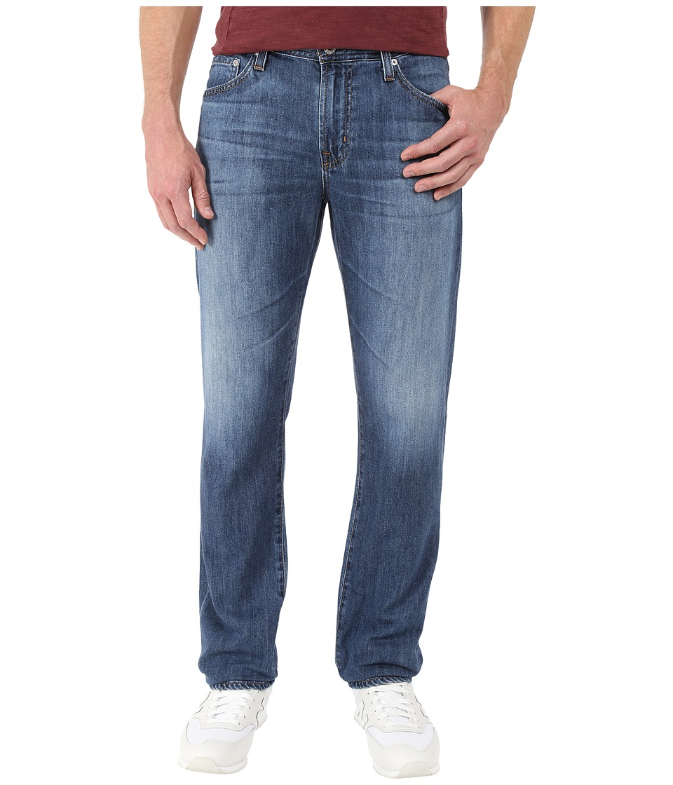 AG Adriano Goldschmied Graduate Tailored Leg Denim in Retreat Retreat Mens Jeans