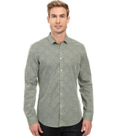 Calvin Klein - Long Sleeve Crosshatch Print Shirt
