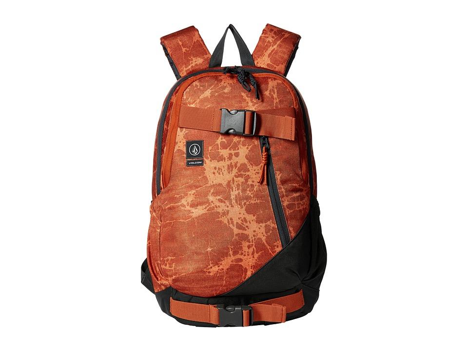 Volcom - Substrate (Burnt Orange) Backpack Bags