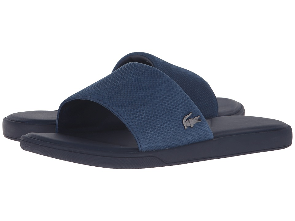 Lacoste - L.30 Slide Casual Cam (Navy) Men