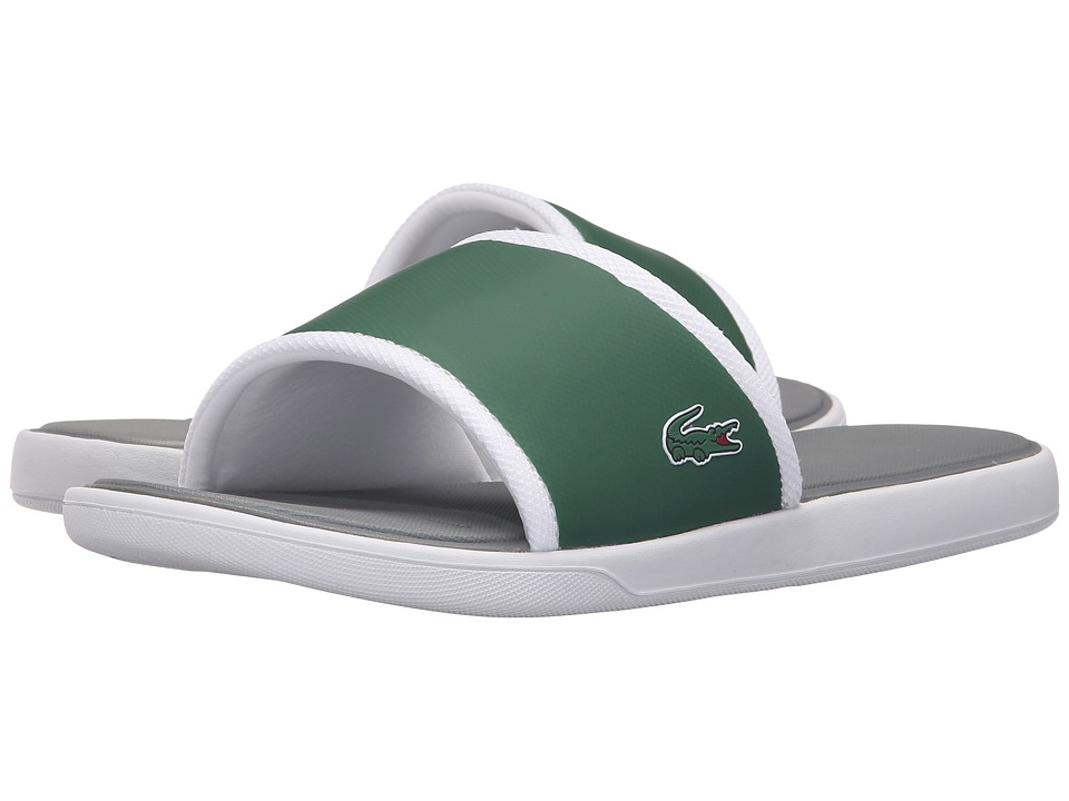 Lacoste - L.30 Slide Sport SPM (Dark Green/Grey) Men