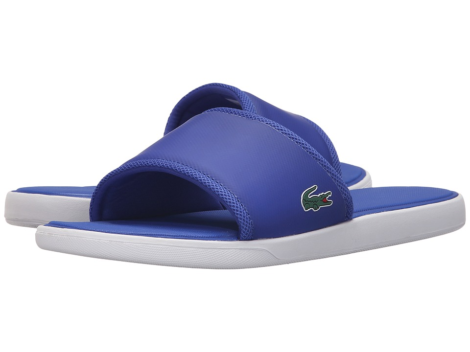 Lacoste - L.30 Slide Sport SPM (Blue) Men