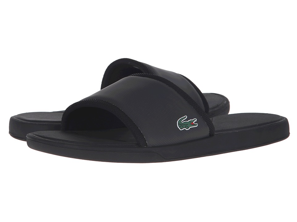Lacoste - L.30 Slide Sport SPM (Black) Men