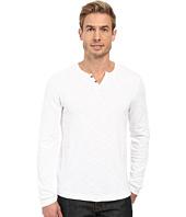 Kenneth Cole Sportswear - Long Sleeve Slub Henley
