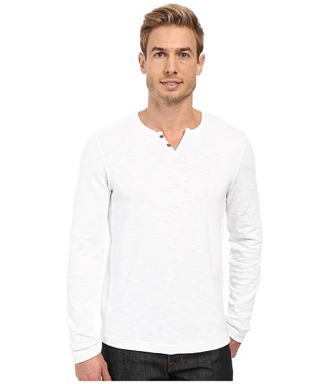Kenneth Cole Sportswear Long Sleeve Slub Henley