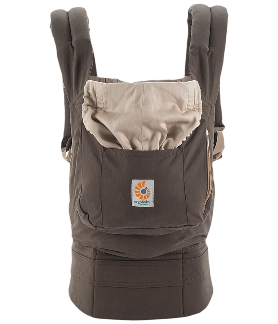 Ergobaby Organic Collection Dark Cocoa Carriers Travel