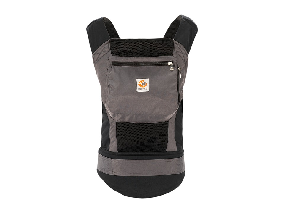 Ergobaby Performance Collection Charcoal Black Carriers Travel