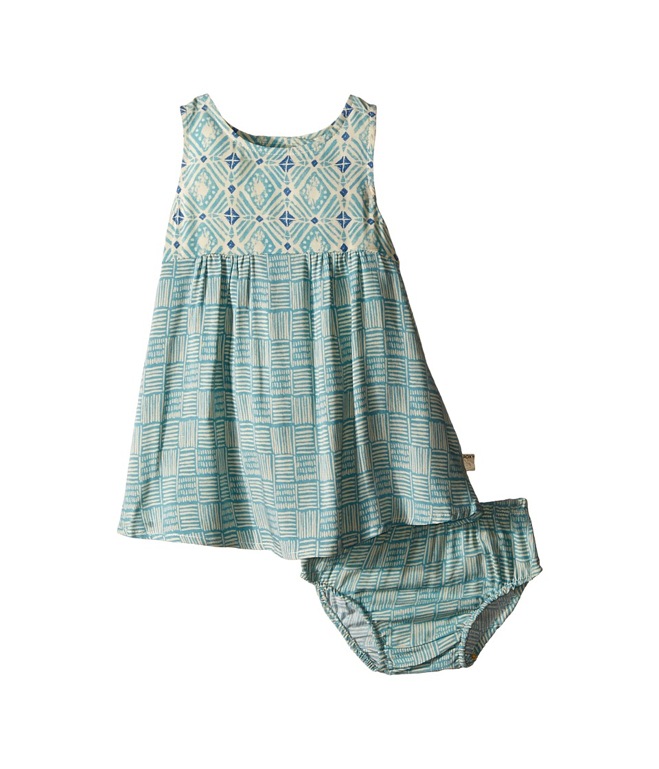 Roxy Kids Breezy Bay Dress Infant Cameo Blue Girls Dress