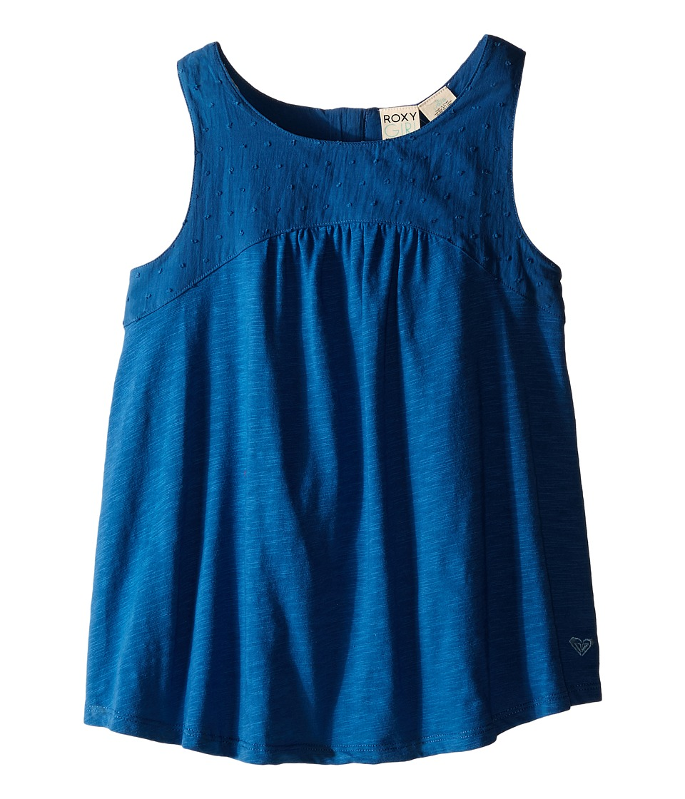 Roxy Kids Beach Bummin Tank Top Big Kids Dark Blue Girls Sleeveless