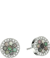 Fossil - Vintage Glitz Crystal Studs Earrings
